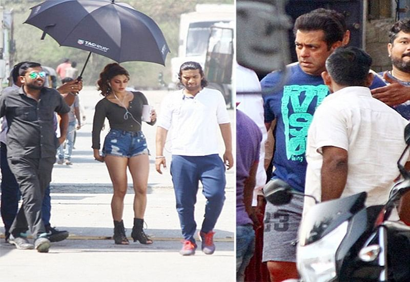 Race 3: Salman Khan, Jacqueline Fernandez and Daisy Shah gearing up for intense sequence; see pics