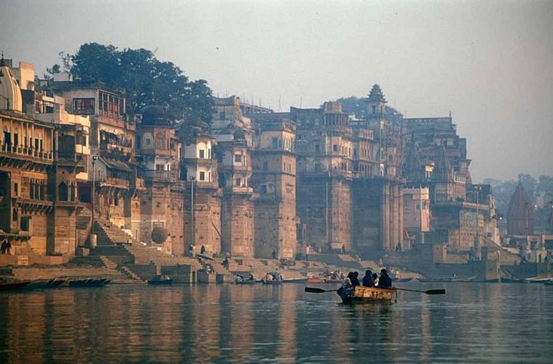And silently flows the Ganges