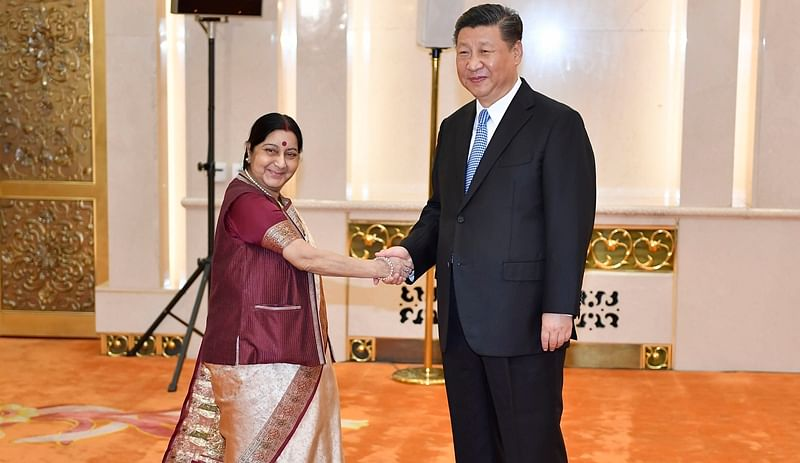 'Need for Indians-Chinese to learn each other's language' Sushma