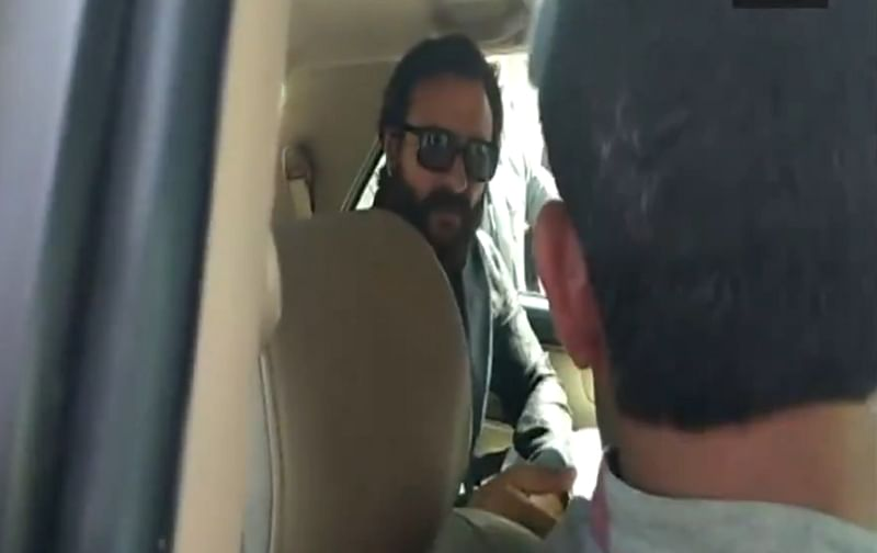 Blackbuck Poaching case: Arrogant Saif Ali Khan threatens to hit driver, watch video