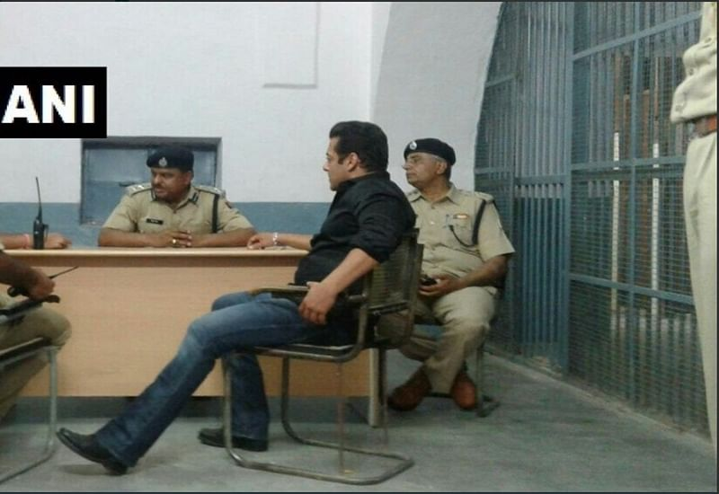 Blackbuck Poaching Case: Salman Khan is Qaidi No. 106; shares ward no. 2 with Asaram Bapu in Jodhpur jail
