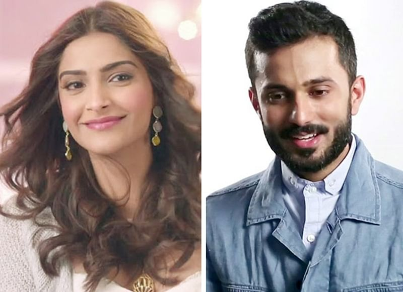 Sonam Kapoor comesout publicly about her relationship with Anand Ahuja, shares a video from their personal chat!
