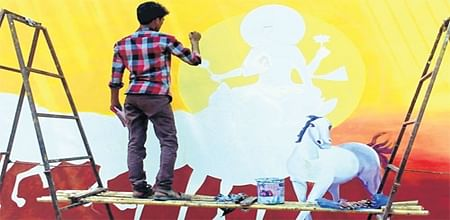 Bhopal: Raj Bhavan wall to greet passersby with Surya Namaskar