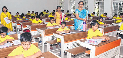 UCAMS mental math competition begins at Satya Sai Woman College