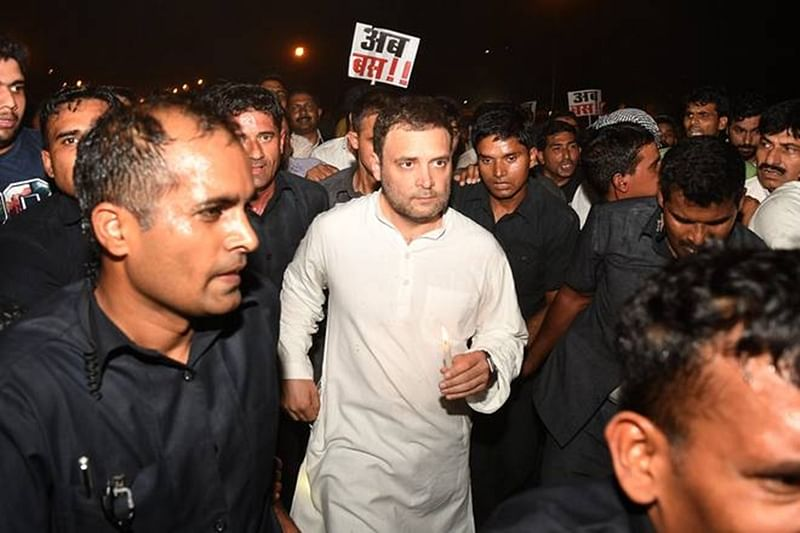 Midnight march: It's time for PM Narendra Modi to walk the talk on 'beti bachao', says Rahul Gandhi