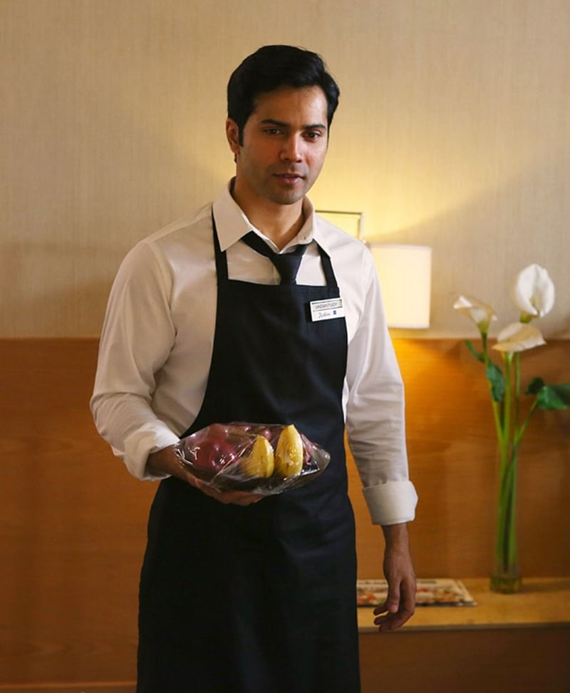 'October' Diaries: Find out what happened when Varun Dhawan was mistaken for a hotel employee by a tourist!