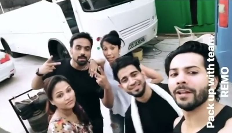 Varun Dhawan's first song for 'Kalank' gets completed on Sunday early morning