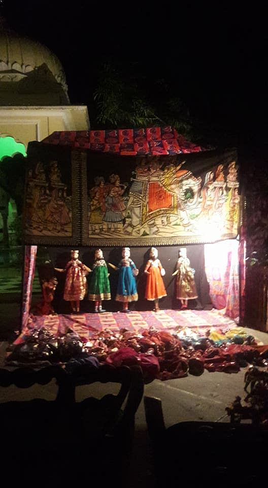 Palace hotels and havelis have puppet shows where puppet characters perform skits. Photo by Maithili Chakravarty