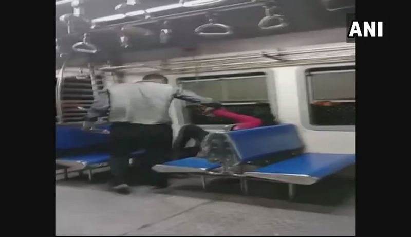 Mumbai Shocker: Woman molested onboard a local train