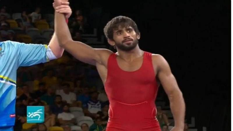 Commonwealth Games 2018: Wrestler Bajrang Punia wins Gold medal in men's freestyle 65kg category