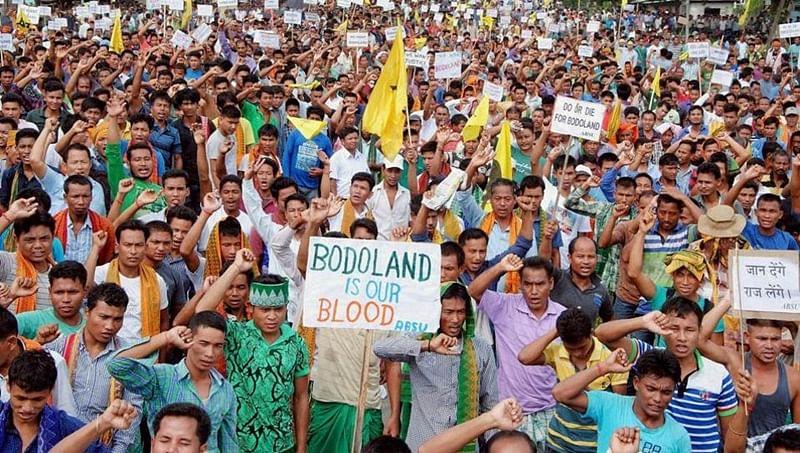 Assam: Bodo groups call for national highway blockade demanding talks on Bodoland