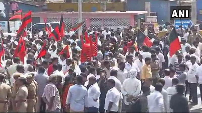 Tamil Nadu bandh: DMK-led opposition bandh over Cauvery issue begins in Tamil Nadu