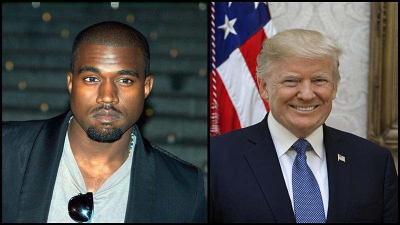 Rapper Kanye West to stay away from US President Donald Trump politics