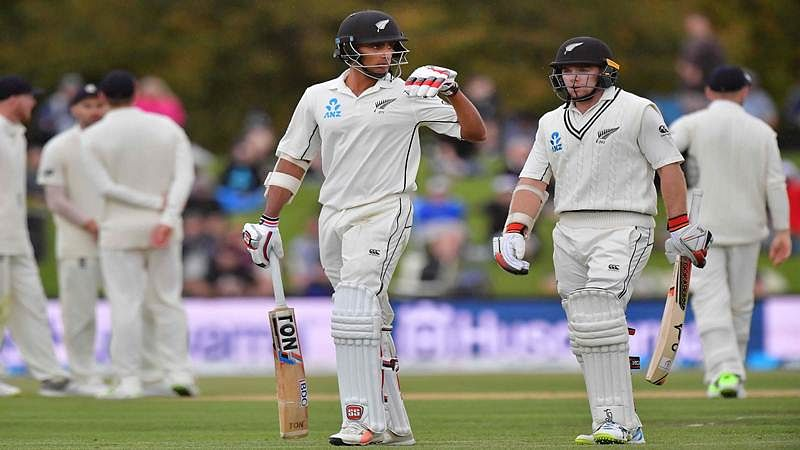 England vs New Zealand Christchurch Test: Latham, Raval in safe start as New Zealand chase 382