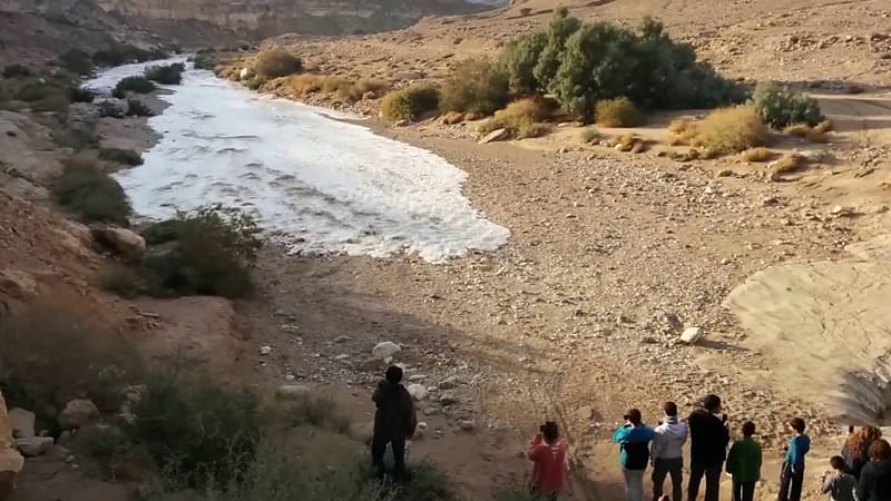 In Israel, nine teenagers get killed due to a flash flood