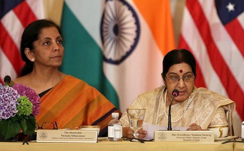 Sushma Swaraj, Nirmala Sitharaman attend SCO meet in China