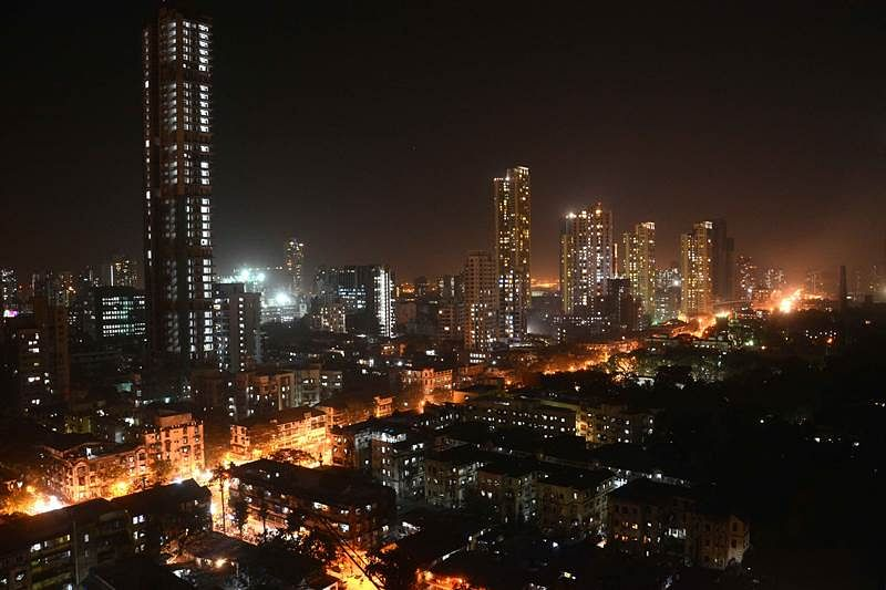Mumbai: The Top View of Parel Smart City Look . Photo by BL SONI