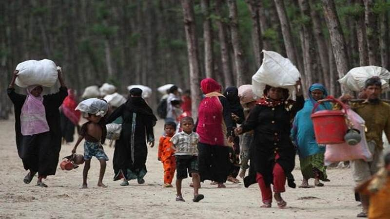 Refugees: Early warning of an impending storm