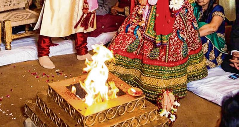 Don't need 'sacred' fire for marriage to be solemnised?