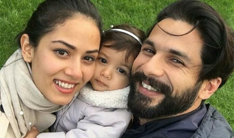 Shahid Kapoor and Mira Rajput step out for first time after second baby announcement
