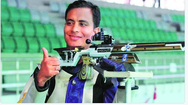 Commonwealth Games 2018: Sanjeev Rajput shoots gold in men's 50m Rifle 3 event