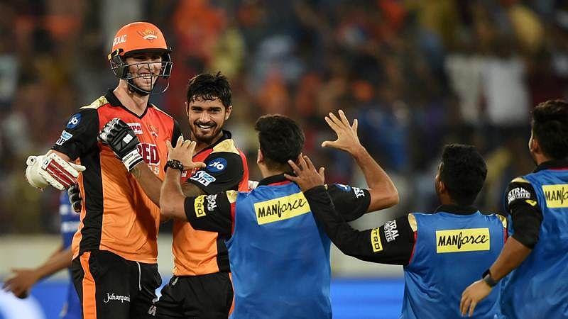 IPL 2018: Sunrisers Hyderabad edge-past Mumbai Indians in last over thriller