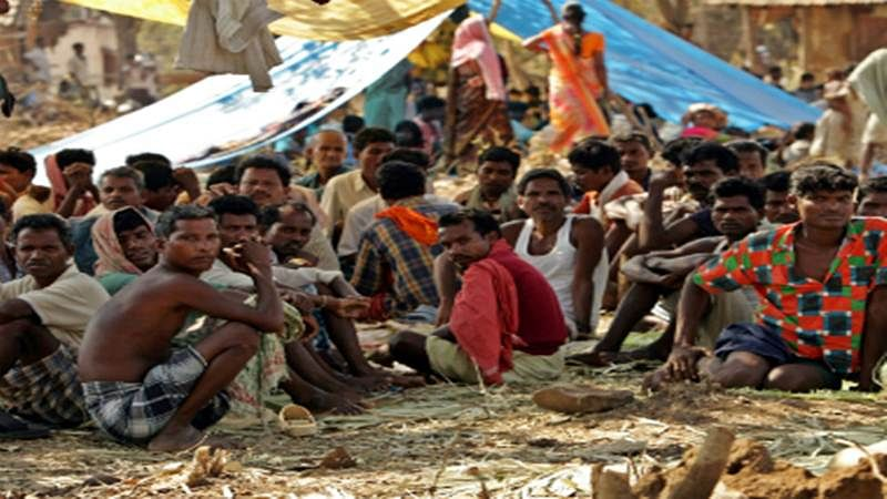 Thane: Displaced from rightful homes, tribals are forced to live in exiled jungle life