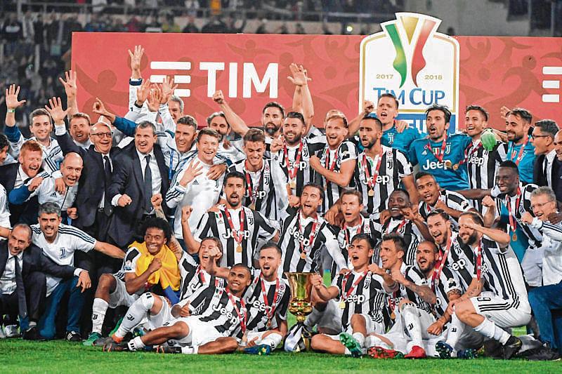 Juventus captures fourth straight Coppa Italia crown