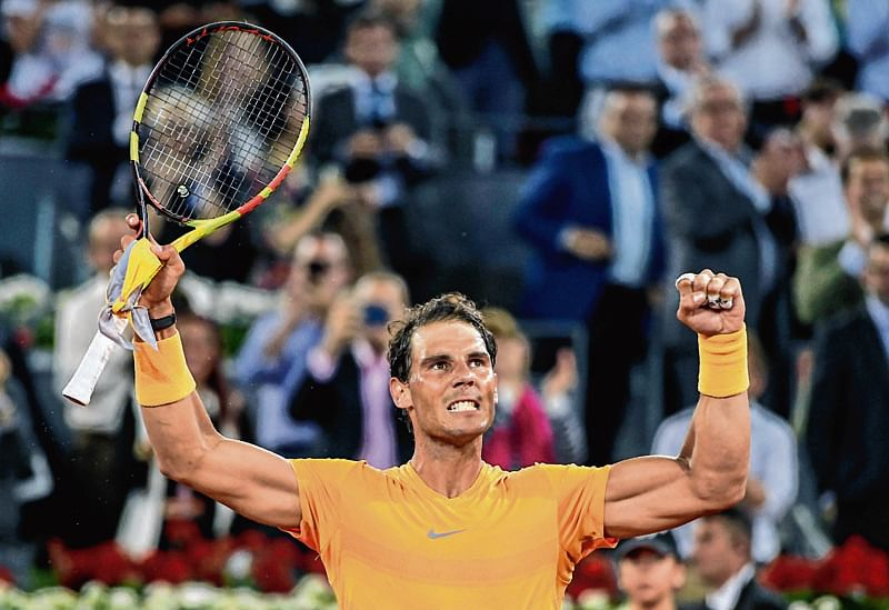 Rafael Nadal defeats Alexander Zverevto win 8th Italian Open title