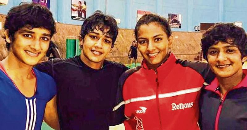 Phogat sisters axed for indiscipline