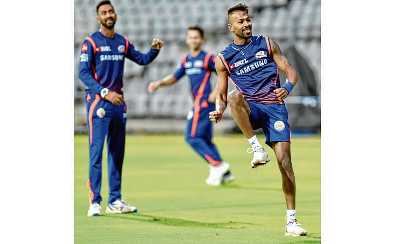 IPL 2019:MI aim for top spot PTI Photo by Mitesh Bhuvad(PTI4_1_2018_000164B)