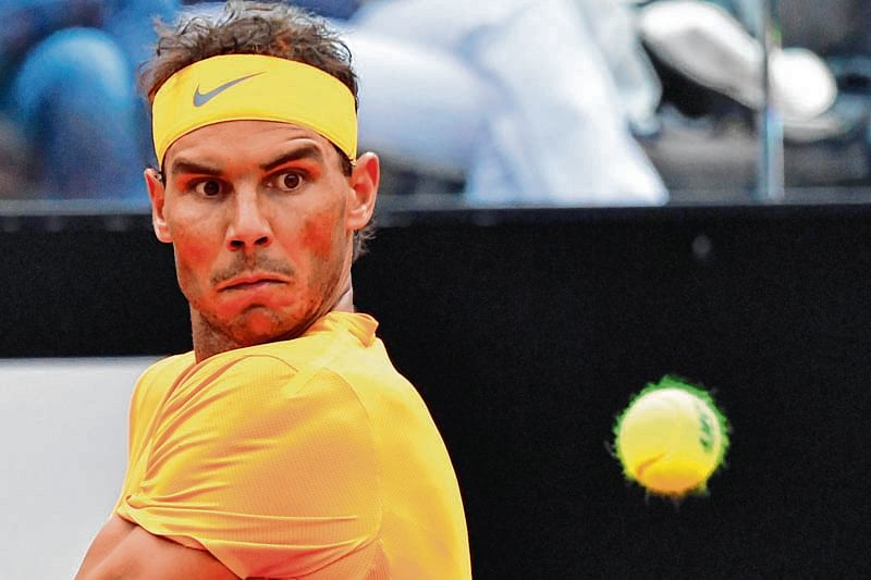 Nadal marches on in Rome