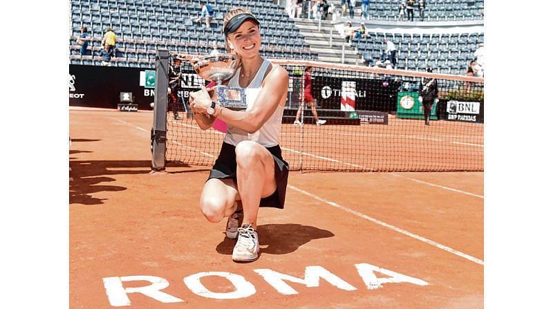 Svitolina reigns in Rome
