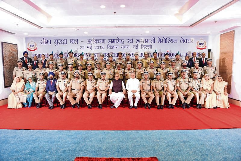 Rajnath Singh remembers gallant officers and men of BSF