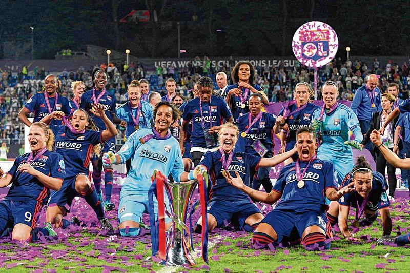 Lyon win record 5th Women's CL title