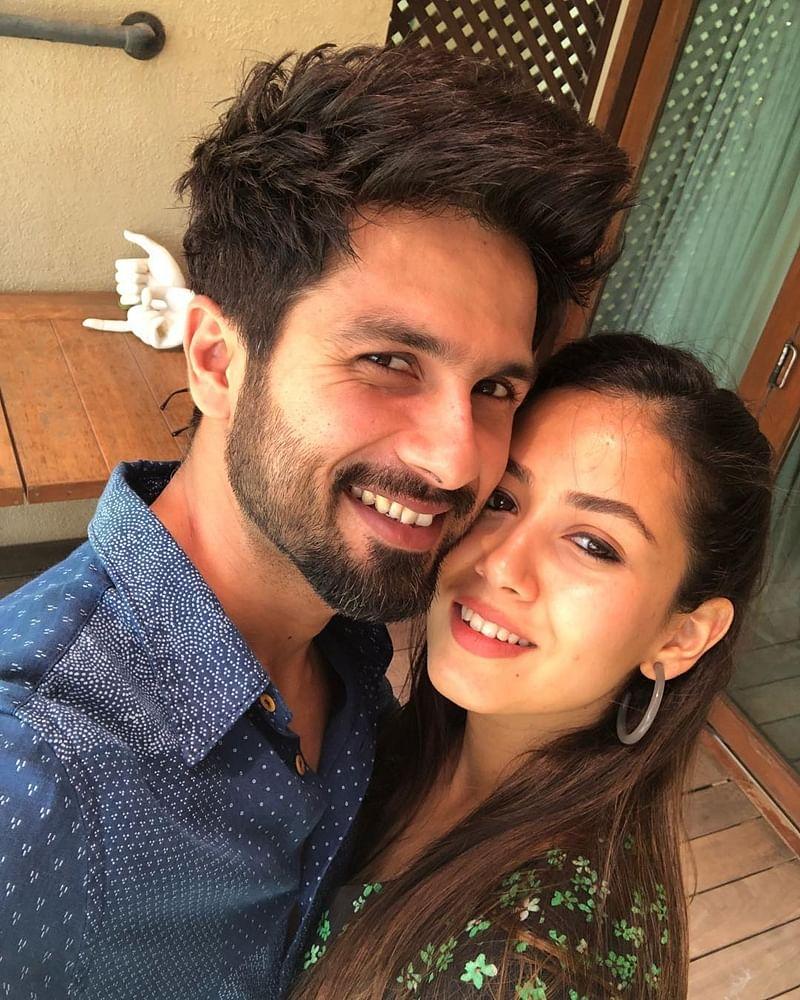 No-Filter Love! Shahid Kapoor and Mira Rajput's latest selfie symbolises pure love