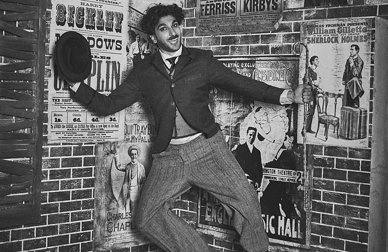Ranveer Singh beautifully recreates many moods of Charlie Chaplin in these pictures; check out