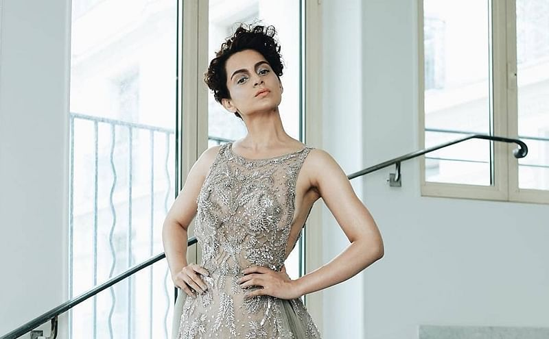 Cannes 2018: Kangana Ranaut styles up in sheer, backless gown for her red carpet debut