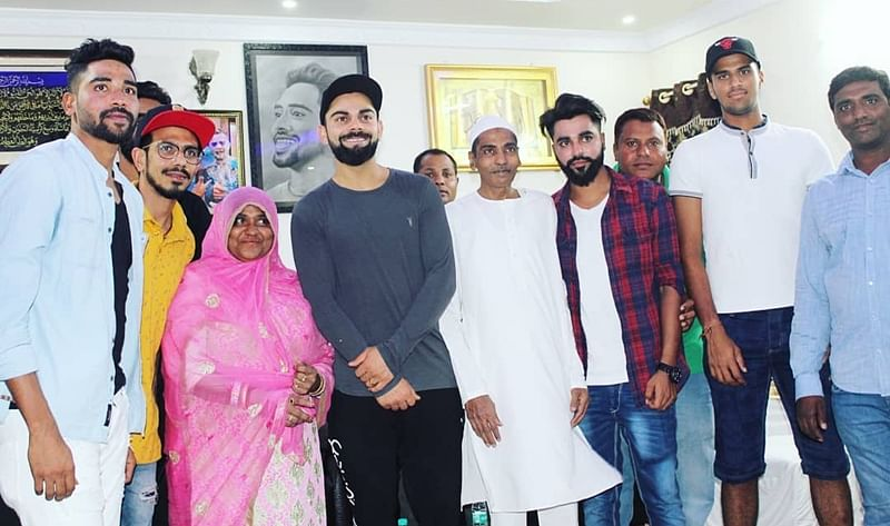 IPL 2018: Mohammed Siraj posts heart-felt message after Virat Kohli, other RCB team members visit his home for dinner