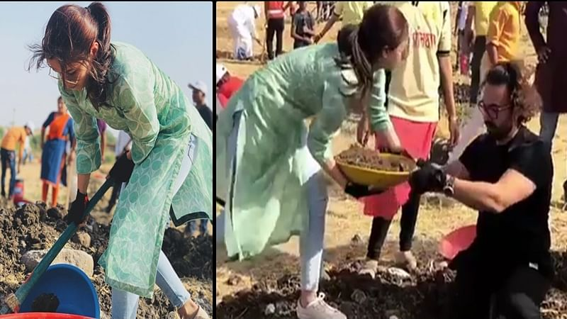 Maharashtra Day 2018: Aamir Khan, Alia Bhatt and others join Shramdaan on labour day, check out pictures
