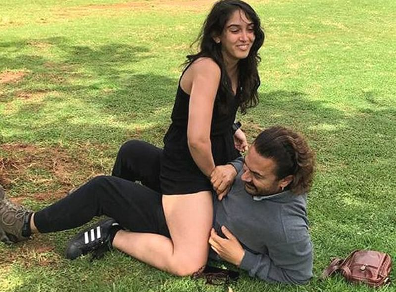See pic: Aamir Khan gets trolled over his 'Dangal' moment with daughter Ira during Ramazan