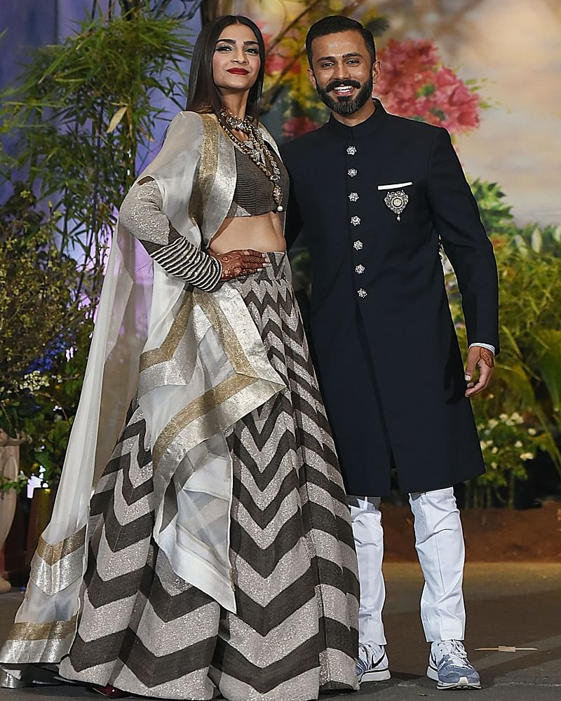 Anand Ahuja dares to wear sneakers at wedding reception; we hope he takes the trolling sportingly!