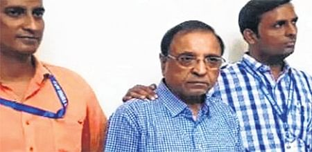 Indore: Police produces MIMS chairman Ramesh Badlani before court