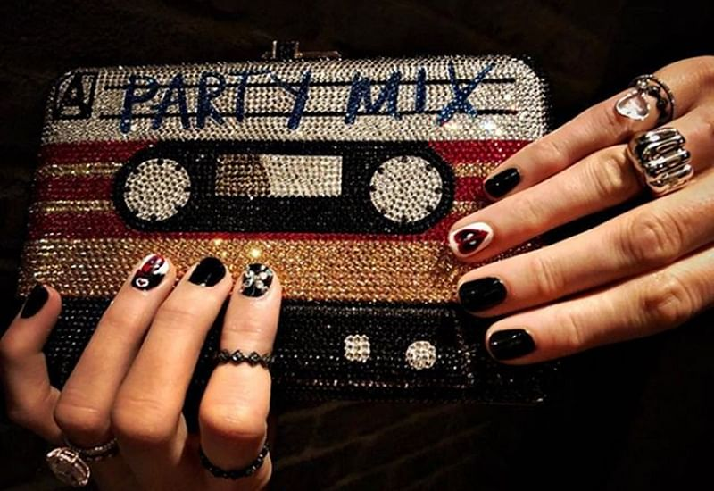 Blake Lively gets 'Deadpool' inspired manicure