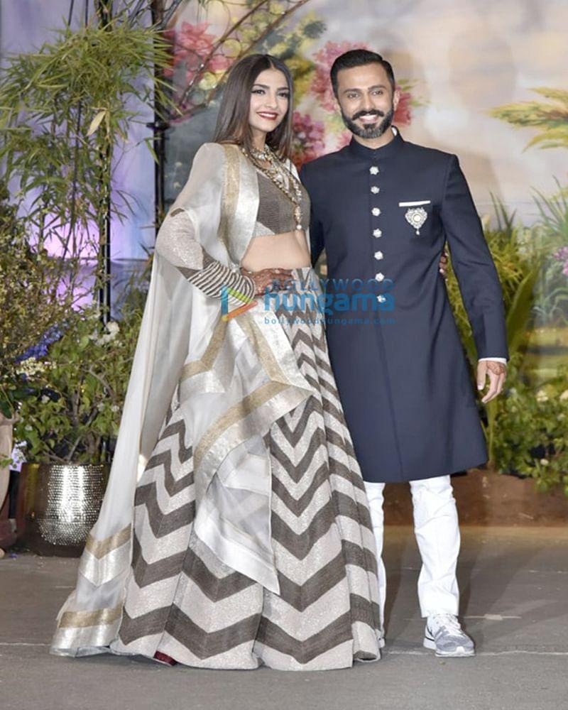 Sonam Kapoor–Anand Ahuja Wedding Reception: SRK to Kareena, Bollywood biggies make dazzling style statement
