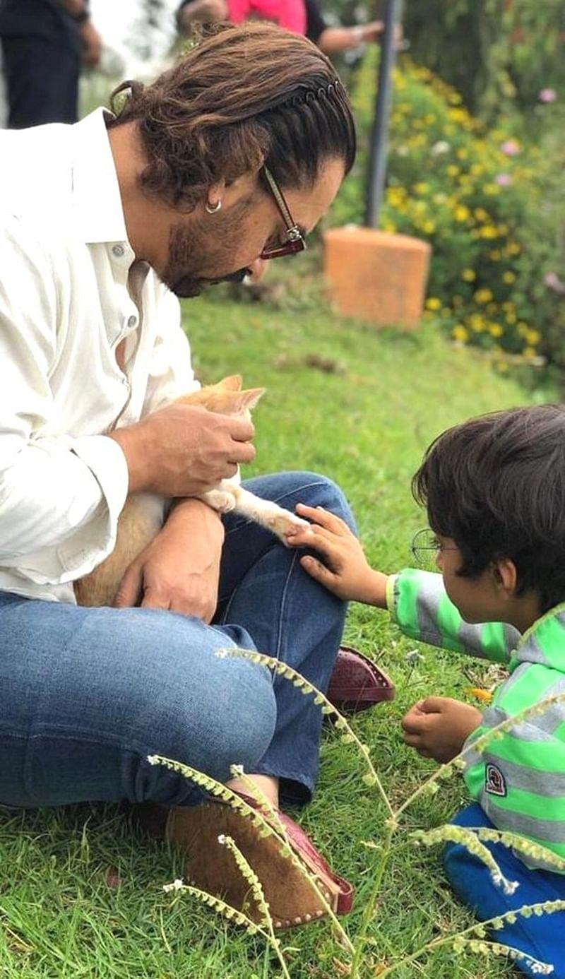 Aamir Khan enjoys downtime with Kiran Rao and son Azad Rao Khan at Coonoor; see pics