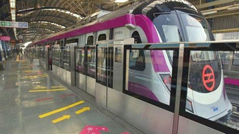Red alert sounded across Delhi Metro