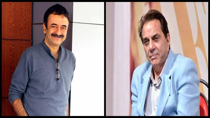 Bollywood actor Dharmendra, director Rajkumar Hirani honoured at 55th Marathi Film Awards