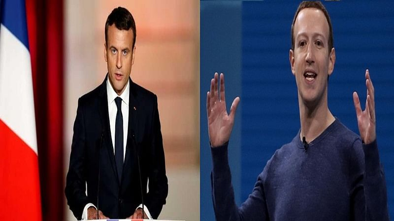 French President Emmanuel Macron to meet Facebook's Mark Zuckerberg with aim of public good
