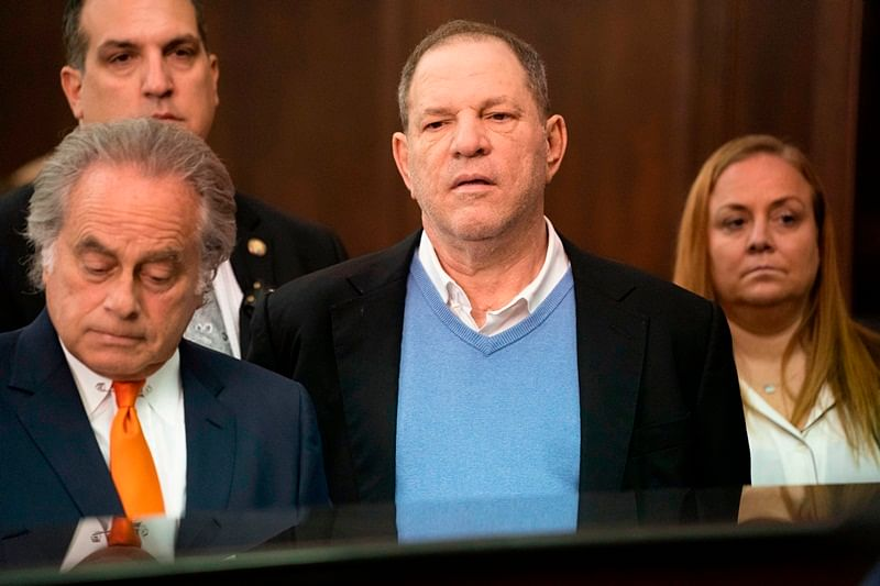 Hollywood producer Harvey Weinstein released on $1 million bail over rape, abuse charges